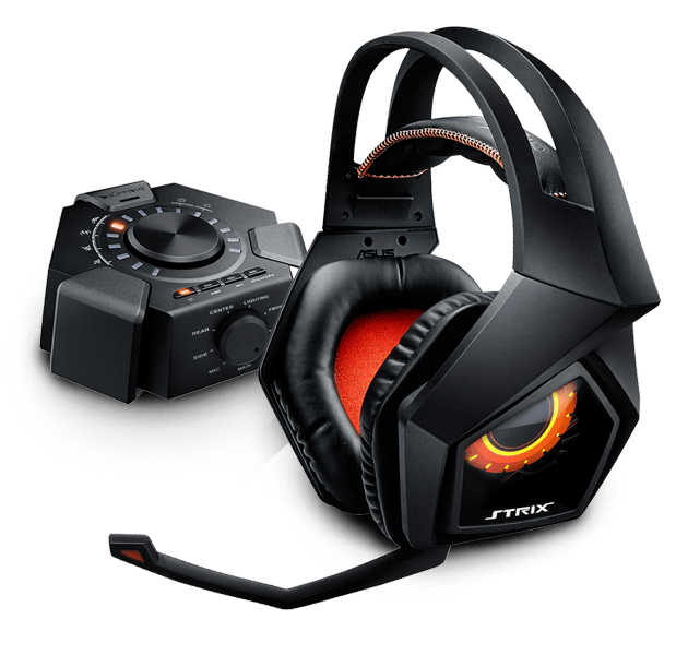 ASUS STRIX 7.1 gaming headset + dárek Echelon gaming pad za 1 CZK/0,05