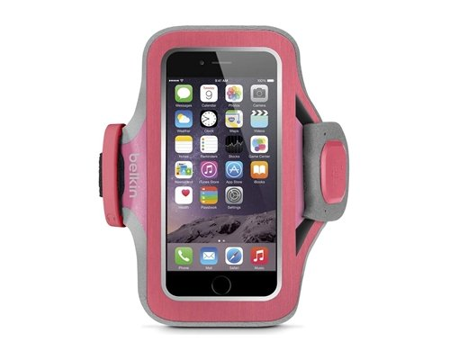 BELKIN pouzdro SLIM-FIT PLUS Armband iPhone 6/6s,fuchsiové