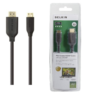 BELKIN HDMI - Mini HDMI kabel Gold, 1m