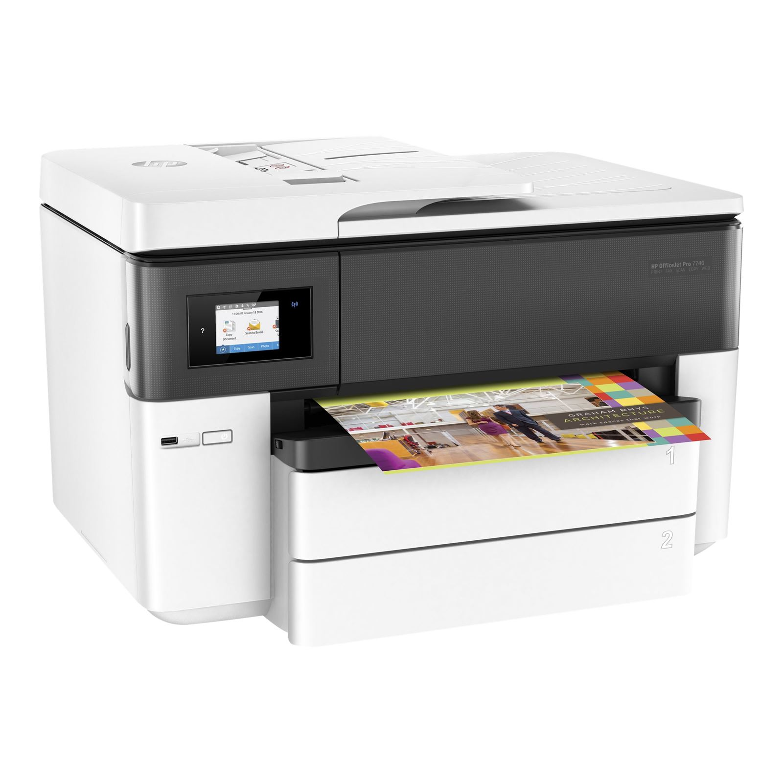 HP Officejet 7740 Wide Format AiO/ A3+,22/18ppm