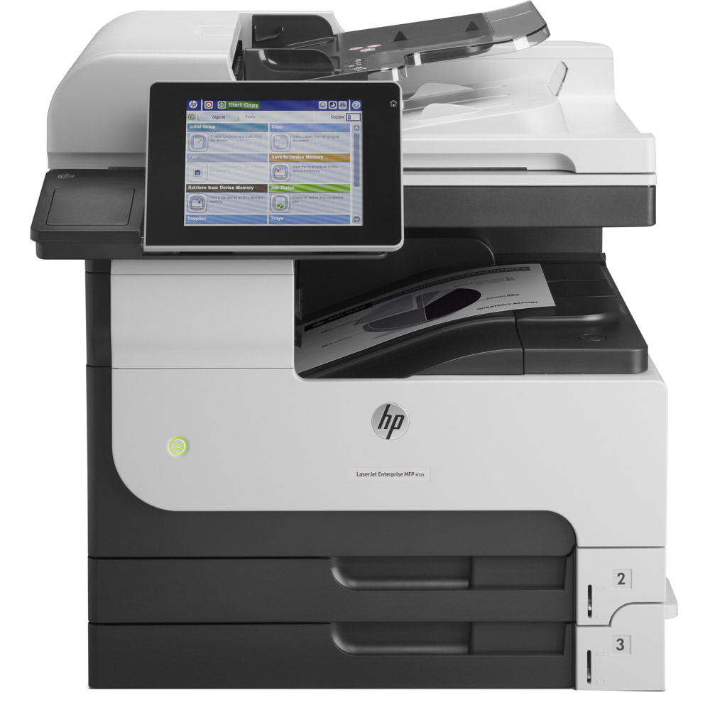 HP LaserJet Enterprise 700 MFP M725dn /A3, 41ppm