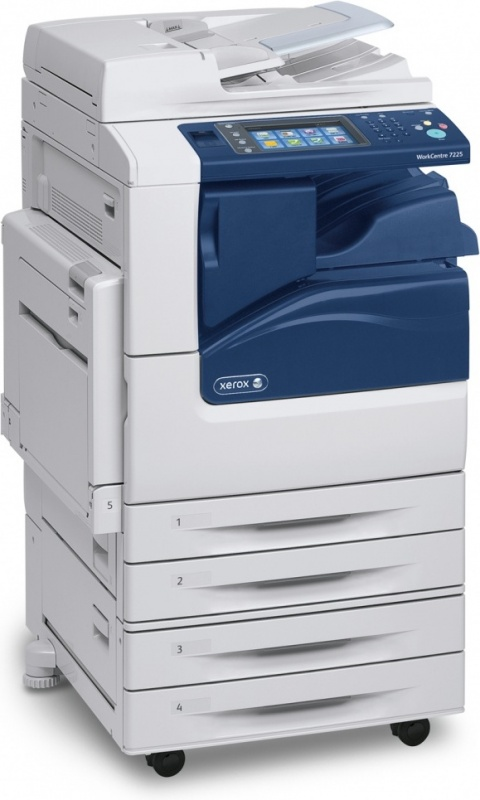 Xerox WorkCentre 7200IV_S; A3 COL laser mfp; Ethernet; DUPLEX; 2x520 l