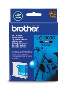 Brother LC-1000C - azurový inkoust