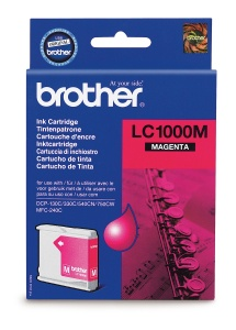 Brother LC-1000M - inkoust magenta