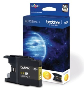 Brother LC-1280XLY (ink. yellow, 1200 str. @ 5%)