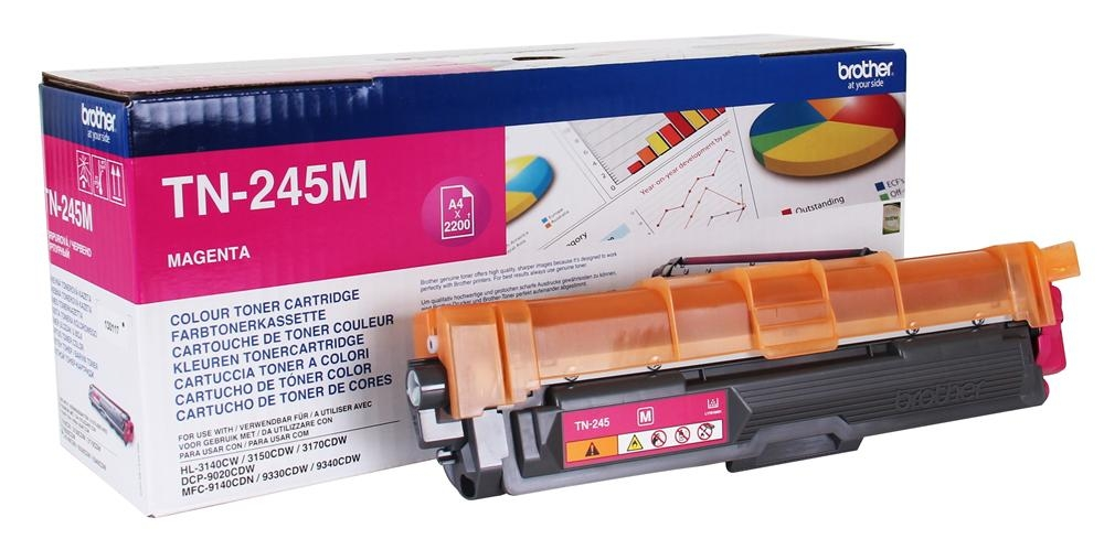 Brother TN-245M, toner magenta, 2 200 str.