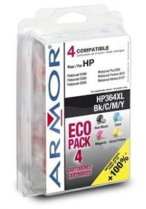 Armor ink-jet pro HP Photosmart B8550,4 Pack