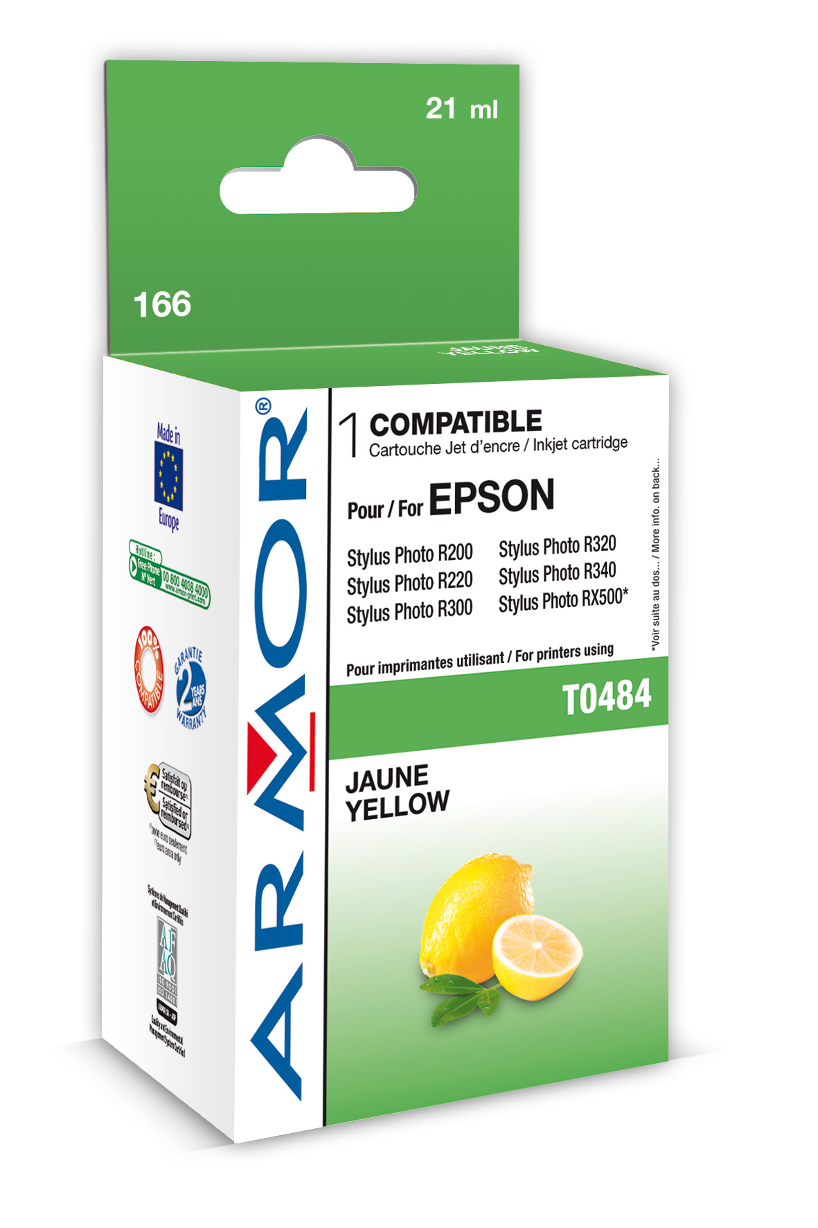 Armor ink-jet pro Epson SP R200 (T048440) Yellow