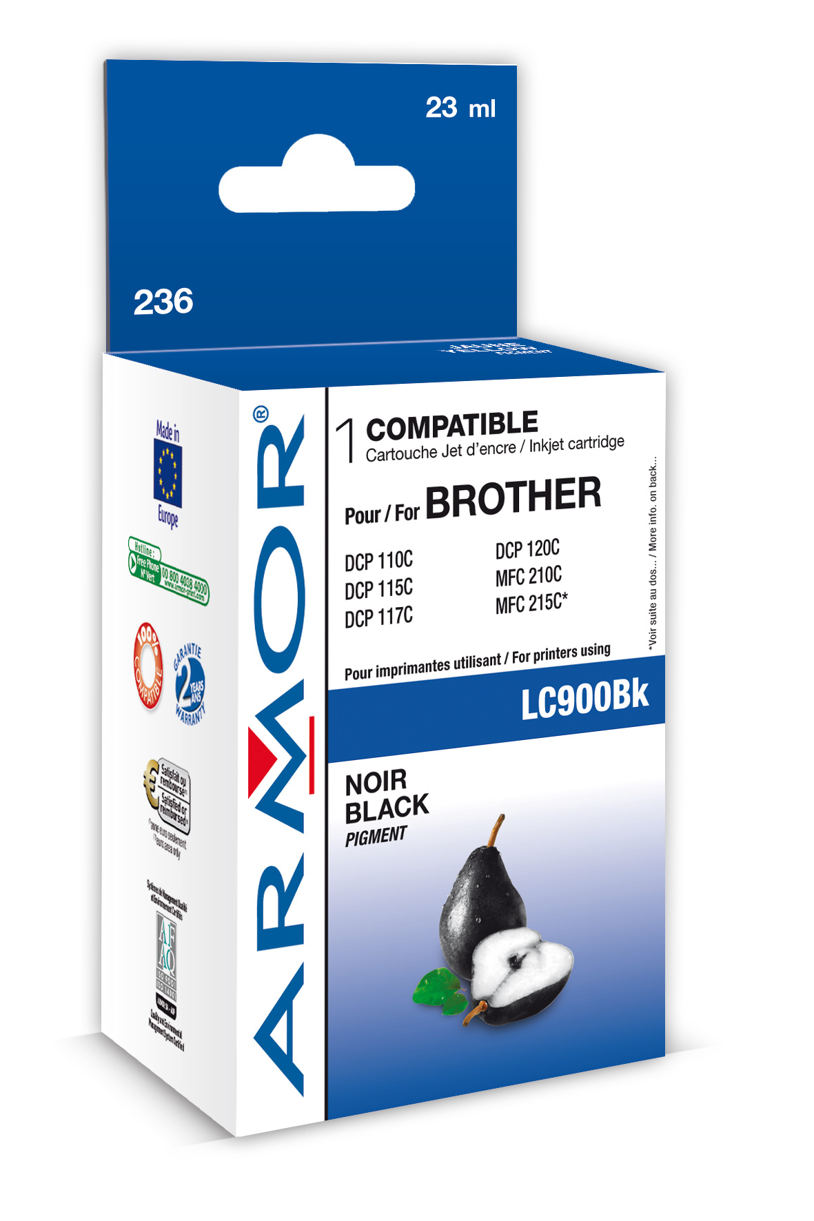 Armor ink-jet pro Brother DCP 110C, (LC900BK)