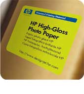 """HP High-Gloss Photo Paper - role 42"""""""