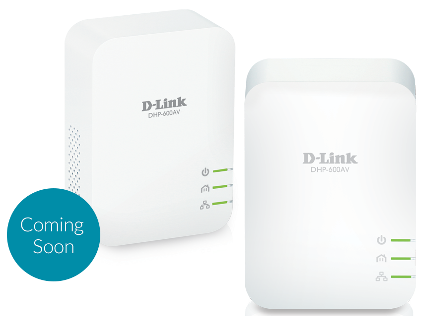 D-Link DHP-601AV/E Powerline AV2 1000 HD Gigabit Starter Kit