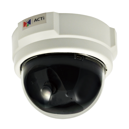 ACTi D52,F.Dome,3M,ID,f3.6mm,PoE