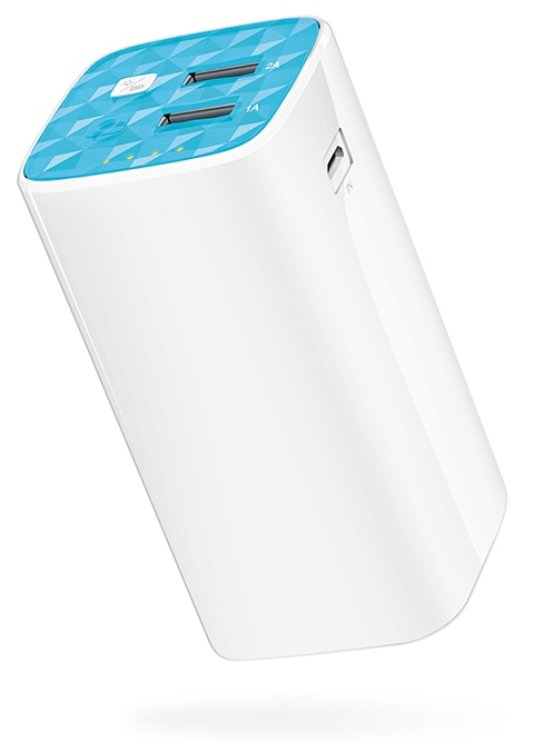 TP-Link TL-PB10400 10400mAh Power Bank, 2 USB