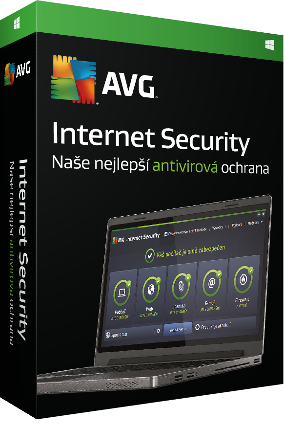 AVG Internet Security 2016, 1 lic. (12 měs.) - elektronická licence