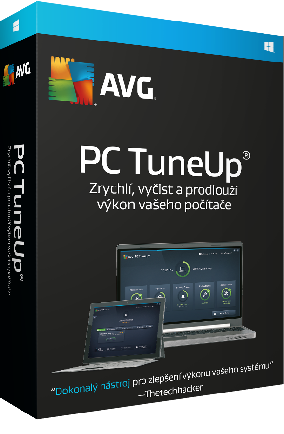 AVG PC TuneUp 4 lic. (12 měs.)