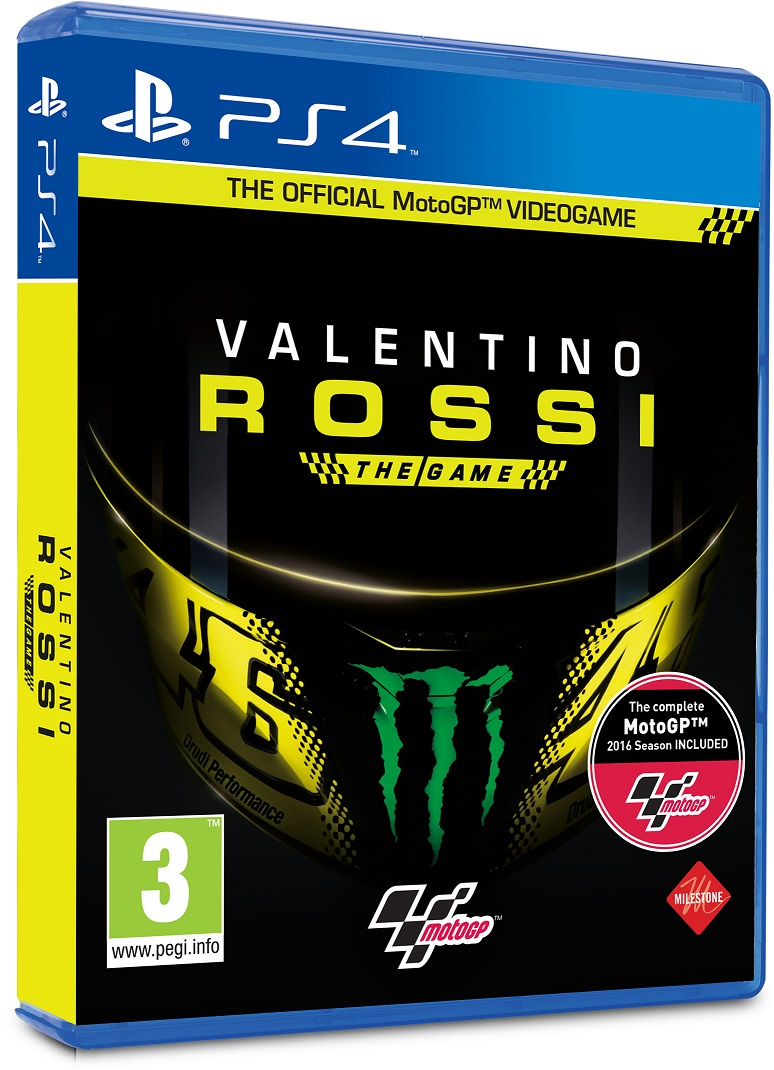 PS4 - Valentino Rossi The Game