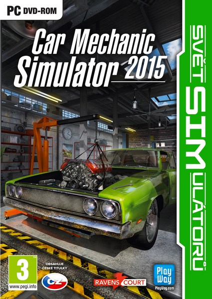 PC - SIM: CAR MECHANIC SIMULATOR 2015