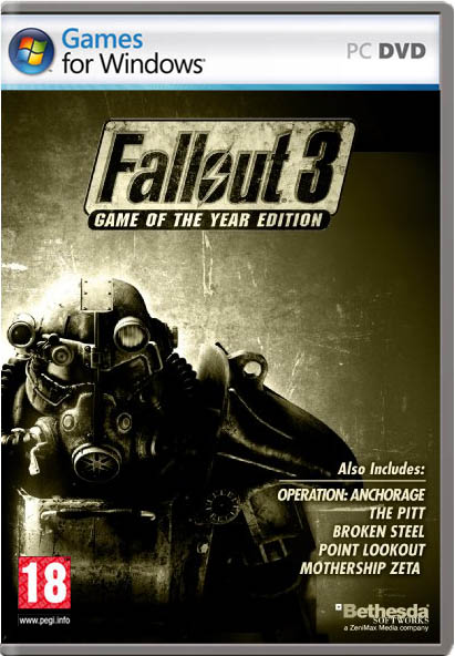 PC - CC: Fallout 3: Game of the Year