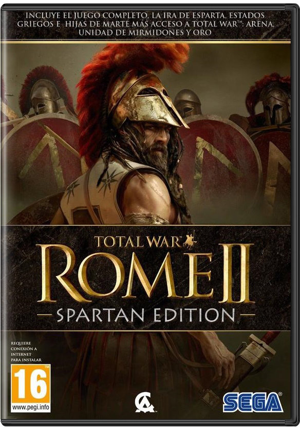 PC - TOTAL WAR: ROME 2 - SPARTANEDITION