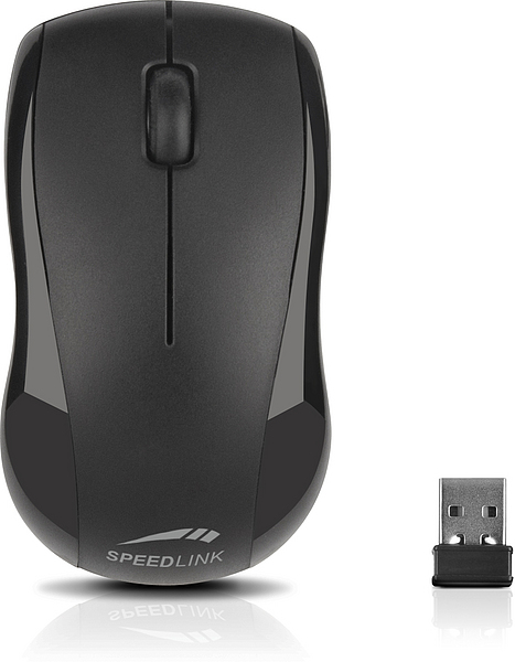 JIGG Mouse - Wireless, black