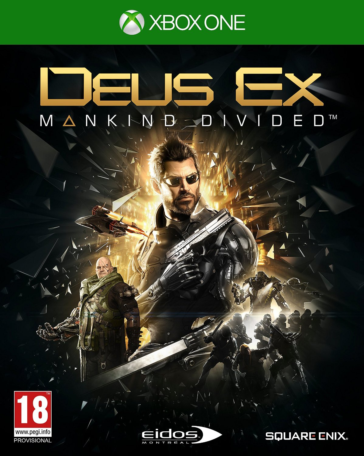 XOne - Deus Ex: Mankind Divided