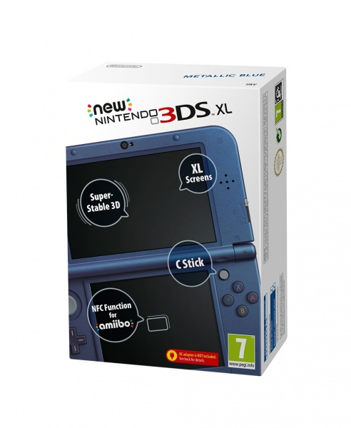 3DS - New Nintendo 3DS XL Metallic Blue
