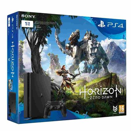 PS4 - Playstation 4 1TB Slim + Horizon Zero D. (bez PS PLUS)