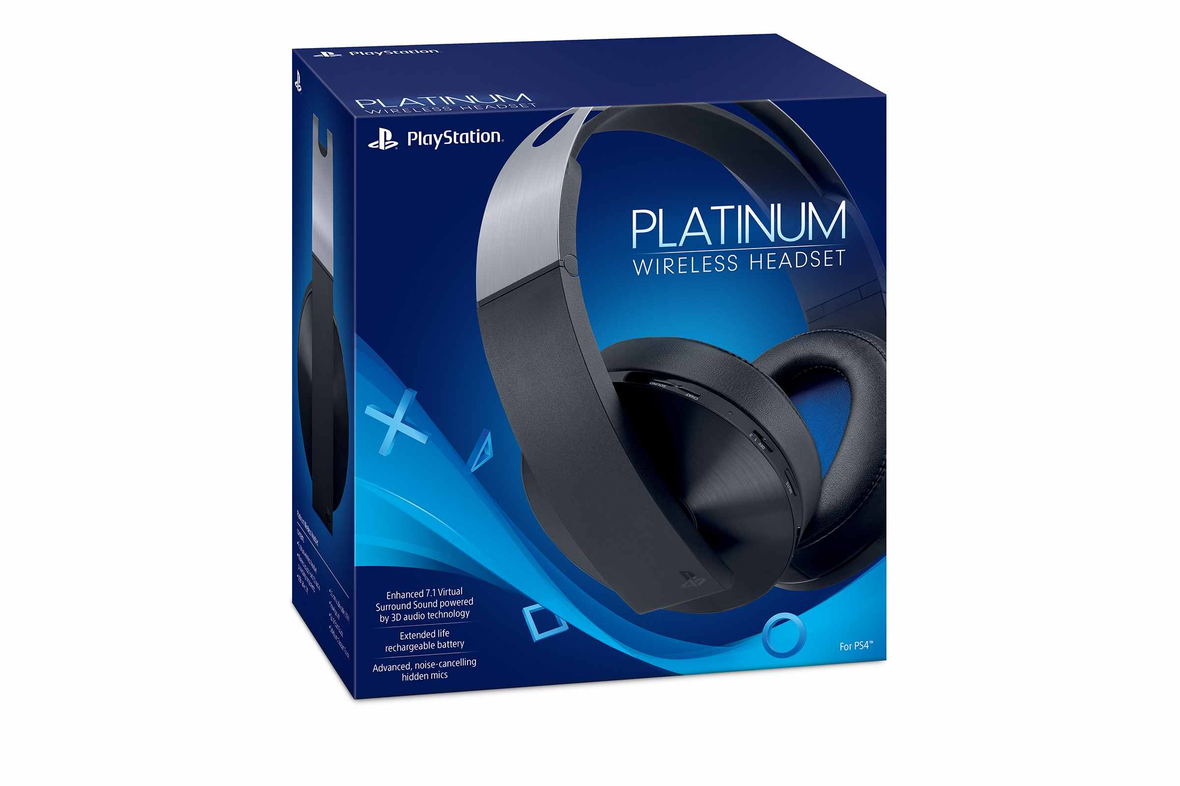 PS4 - Platinum Wireless Headset
