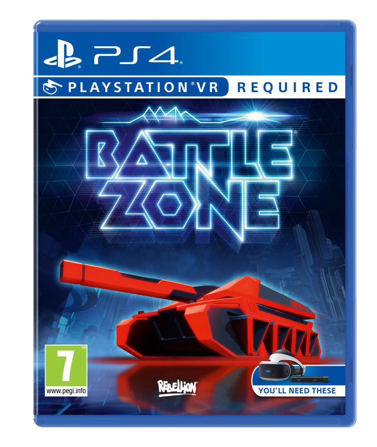 PS4 VR - Battlezone VR