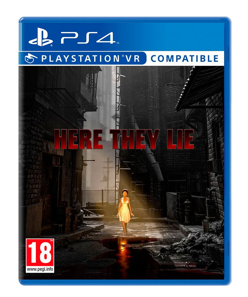PS4 VR - Here They Lie VR