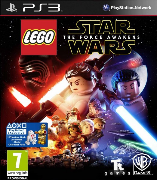 PS3 - Lego Star Wars: The Force Awakens