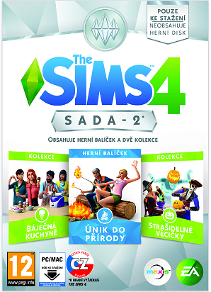 PC CD - The Sims 4 Bundle Pack 2