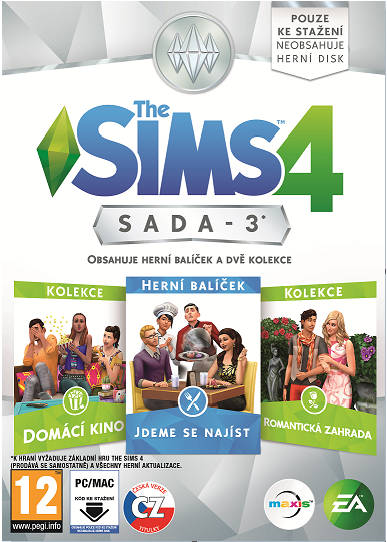 PC CD - The Sims 4 Bundle Pack 3 - vychází 9.6.2016