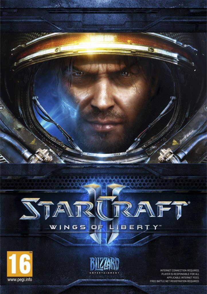 PC CD - StarCraft 2 - Wings of Liberty ENG