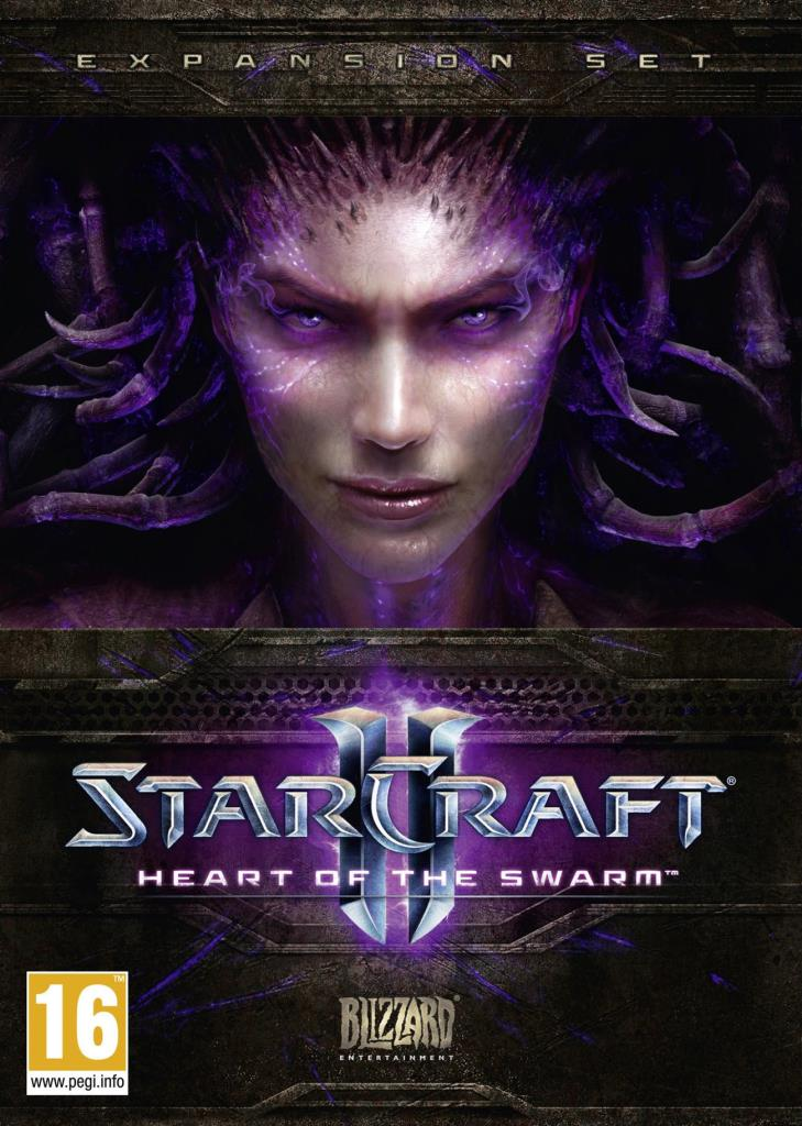 PC CD - StarCraft 2 - Heart of the Swarm CZ