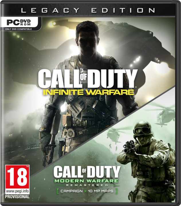 PC CD - Call of Duty: Infinite Warfare Legacy