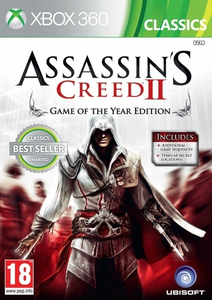 X360 - Assassins Creed 2 GOTY Classics
