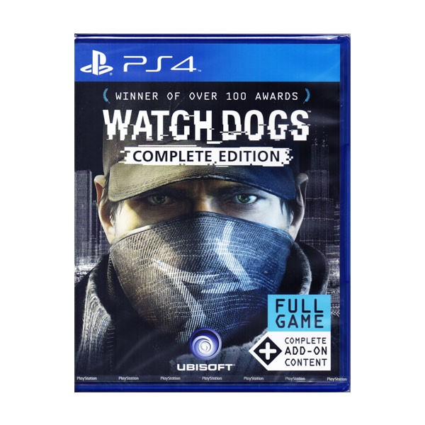 PS4 - Watch_Dogs Complete Edition