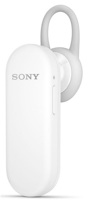 Sony MBH20 Mono Bluetooth Headset, White