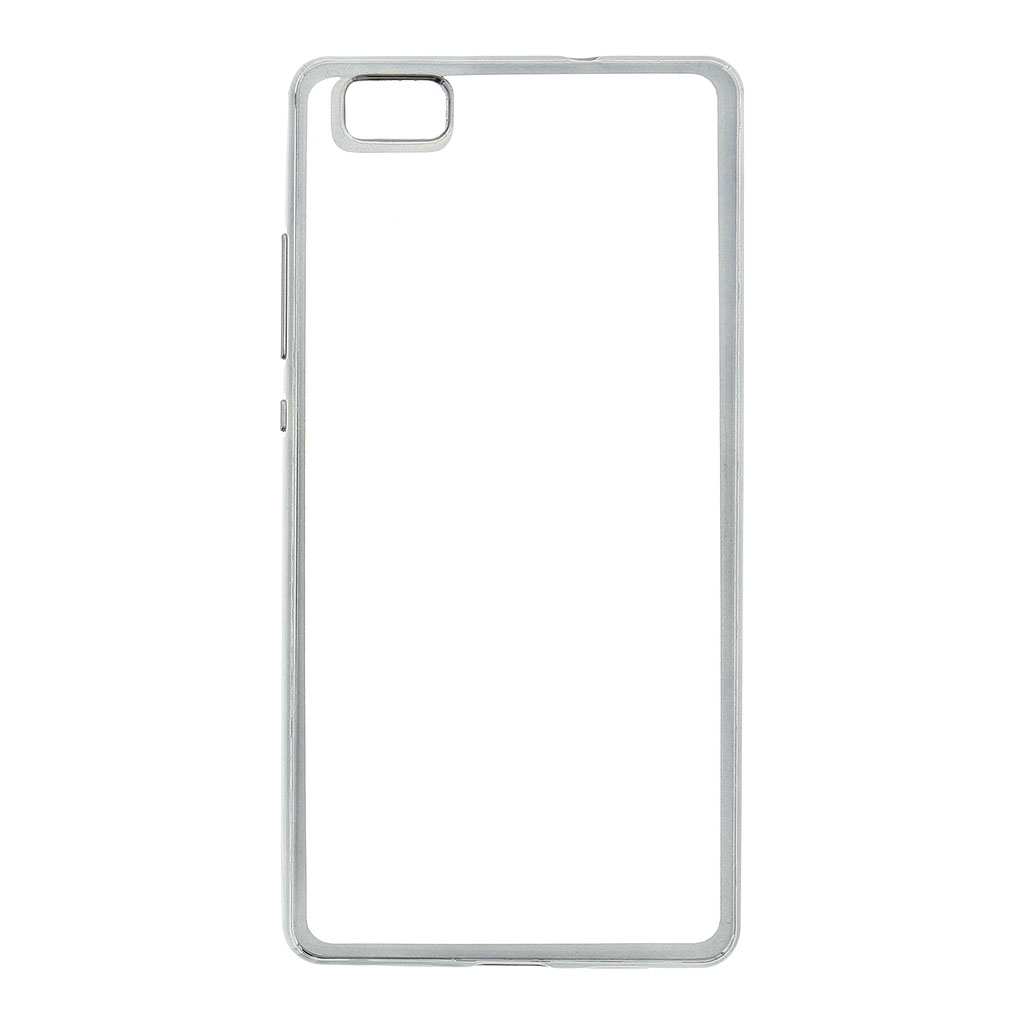 Kisswill TPU Pouzdro Transparent/Grey, Huawei Ascend P8 Lite