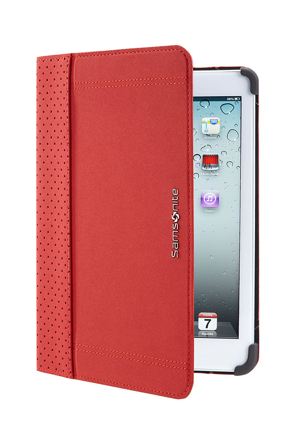 Samsonite Tabzone iPad Mini 3 & 2 Punched Red