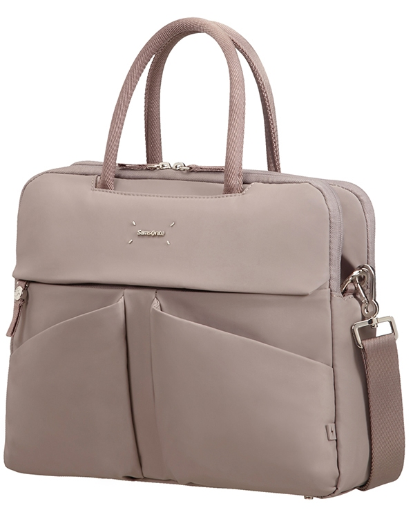 "Samsonite Lady Tech ORGANIZ. BAILHANDLE 14.1"" Smoke"