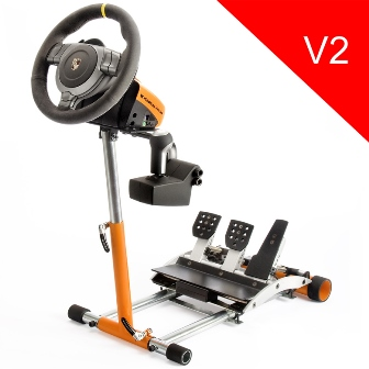 Wheel Stand Pro DELUXE V2, stojan na volant a pedály pro Porsche GT2 /
