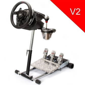 Wheel Stand Pro DELUXE V2, stojan na volant a pedály pro Thrustmaster