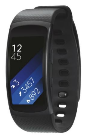 SAMSUNG Gear Fit2, Dark Grey