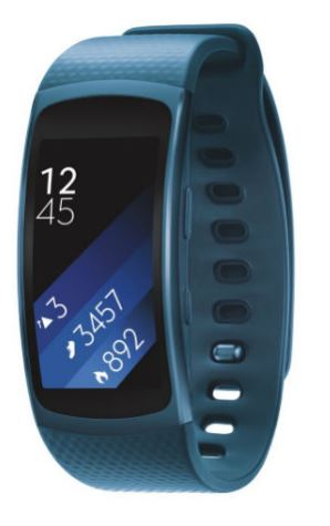 SAMSUNG Gear Fit2, Blue