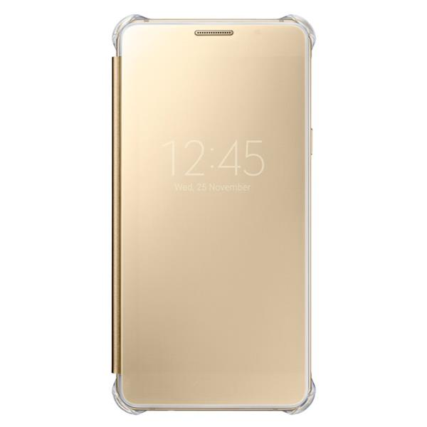 Samsung flip Clear View pro Galaxy A5 2016, Gold