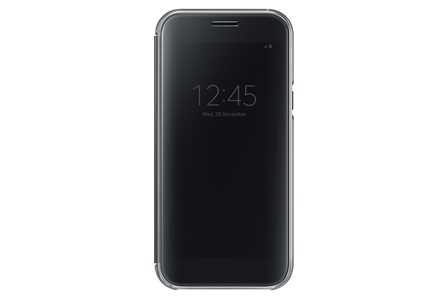 Samsung Clear View Cover pro A5 2017 Black