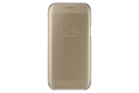 Samsung Clear View Cover pro A5 2017 Gold