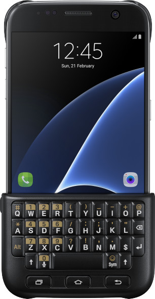 Samsung Keyboard Cover pro S7 (G930) Silver